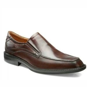 Ecco Windsor Leather Apron Slip On Loafers Shoes